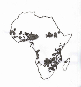 Map - Areas of Distribution