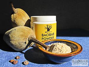 Baobab Fruit, Seeds and Powder