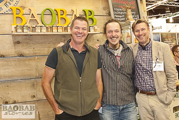 Gus Le Breton, Andreas Triebel, Dominikus Collenberg (from left)