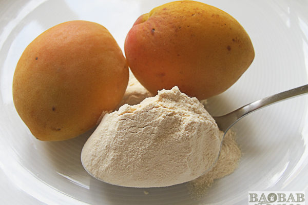 Baobab Powder and Apricots