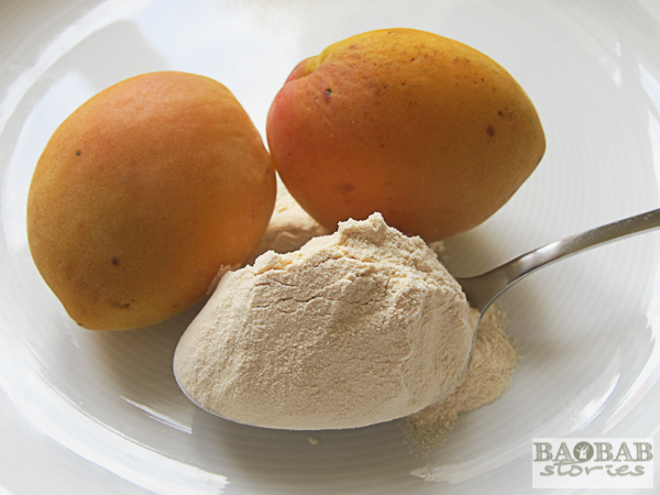 Baobab Powder and Apricots