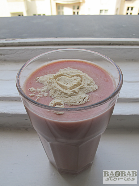Baobab Melon Smoothie