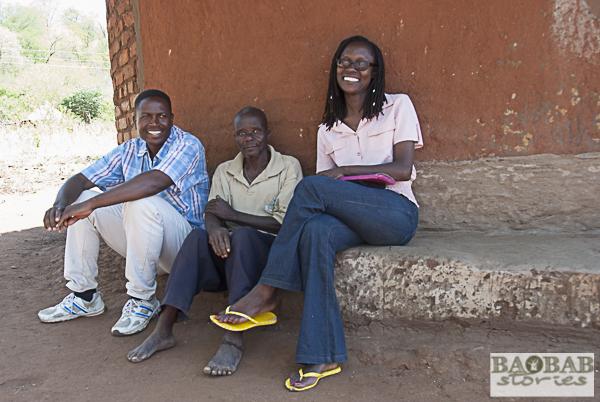 Islam Marimazhira, Ephson Makonyo, Fran Patsika (from left)