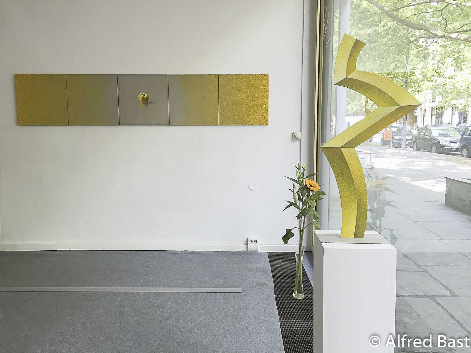 Paintings and sculpture of Alfred Bast, Morgenstern Gallery, Berlin, 2015