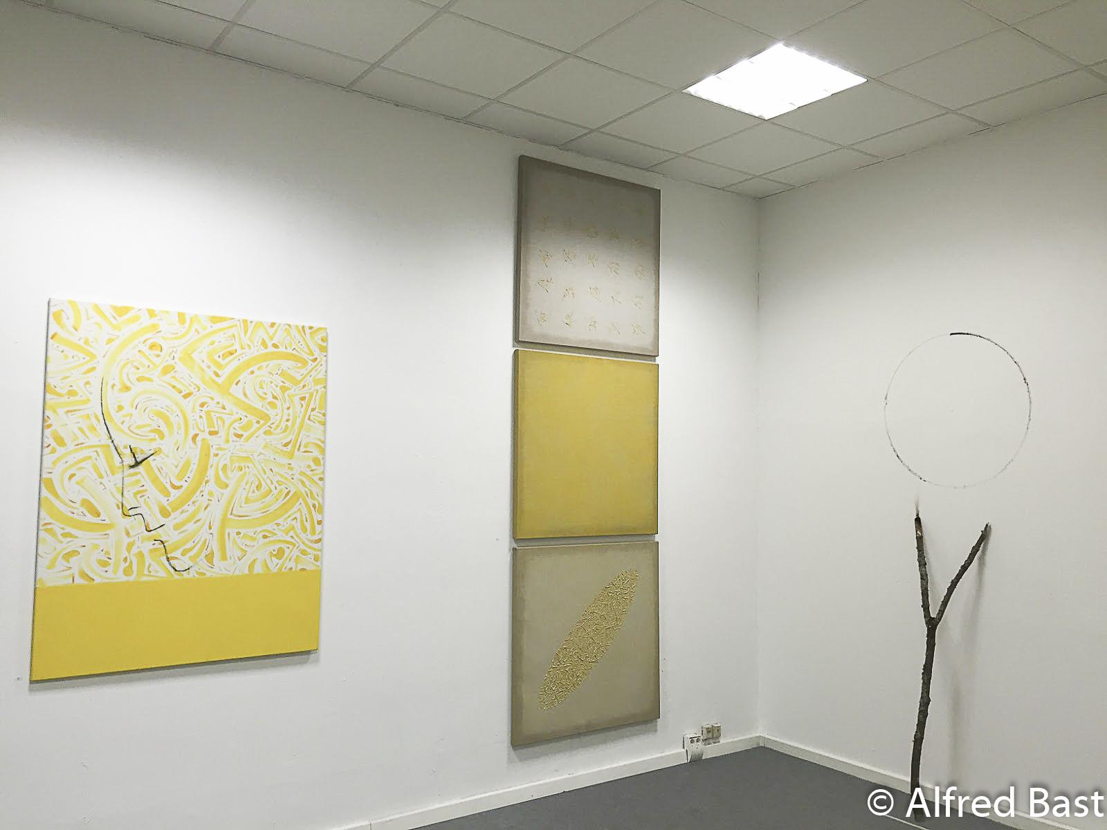 Paintings of Alfred Bast, Morgenstern Gallery, Berlin, 2015