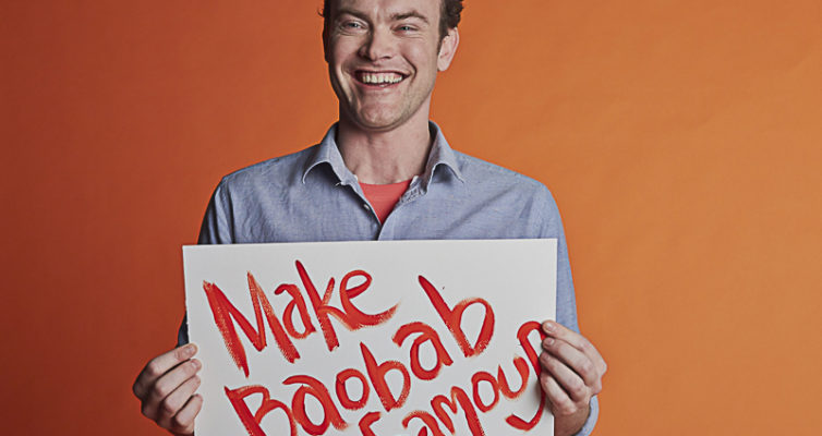 "Andrew Hunt ""make baobab famous"""
