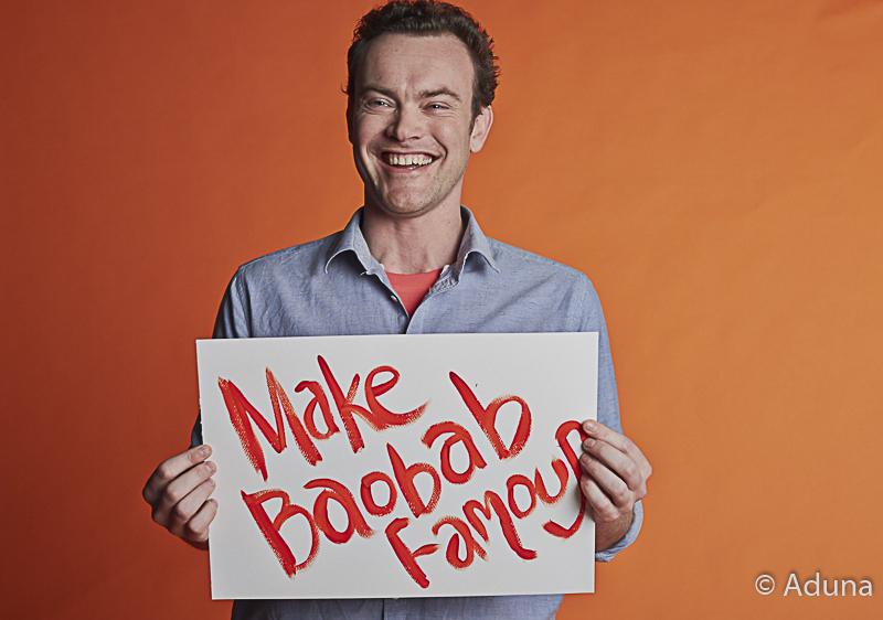 "Andrew Hunt ""make baobab famous"""