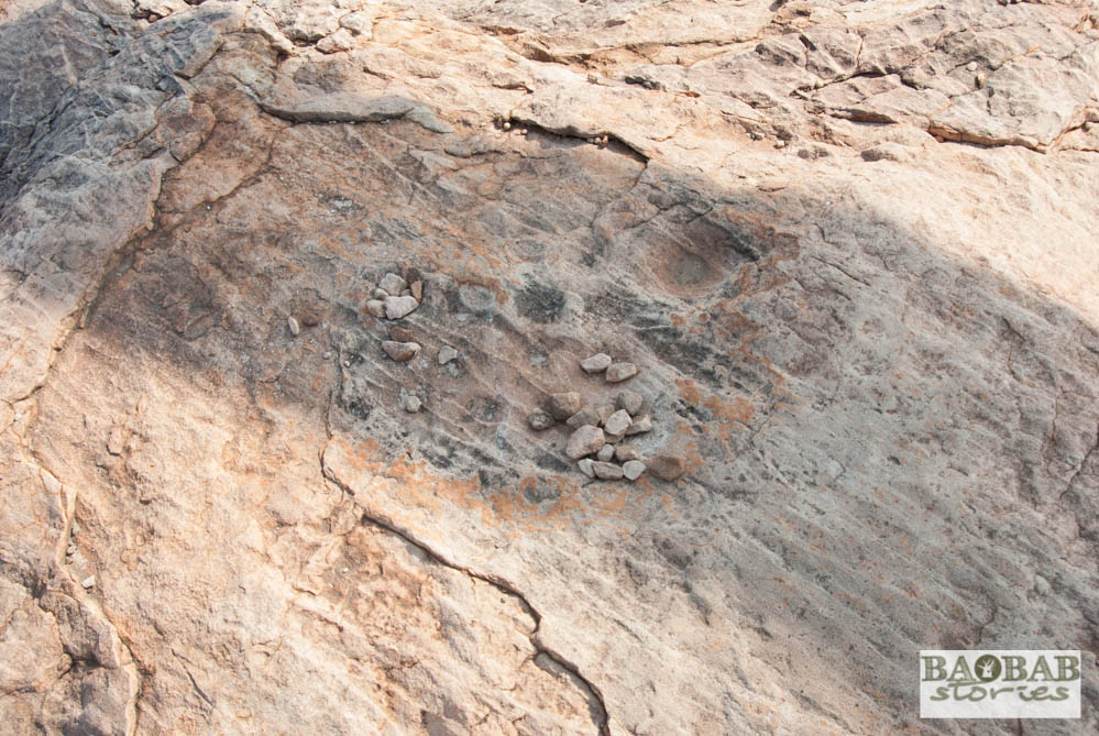 Game with stones, Rhodes Baobab, Mmamagwa, Mashatu, Tuli Block, Botswana