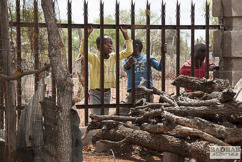 Kids at Zwigodini Village, South Africa