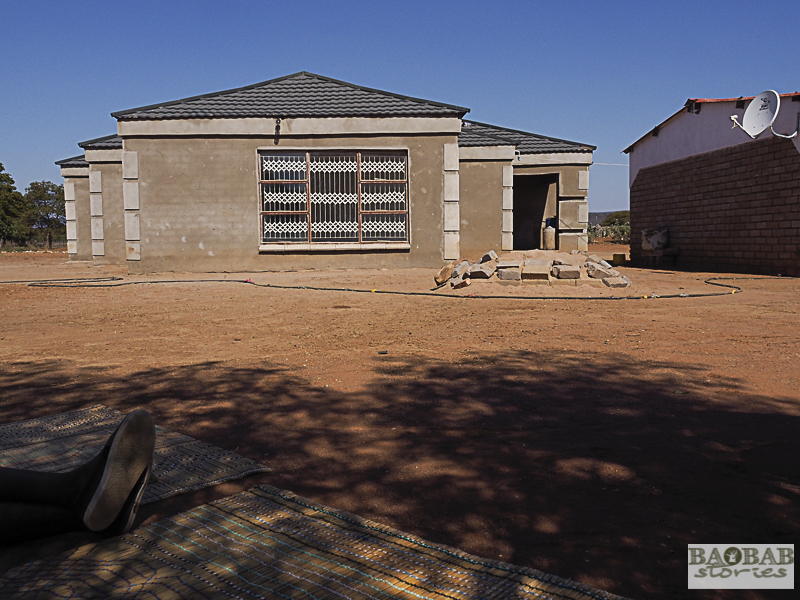 Martha Kwerana's new house, Zwigodini Village, Limpopo Province, South Africa, © Heike Pander