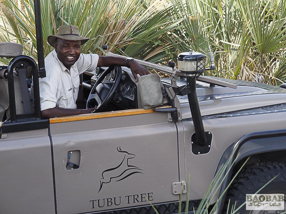 Safari Guide Steve, Tubu Tree Camp, Moremi Game Reserve, Botswana