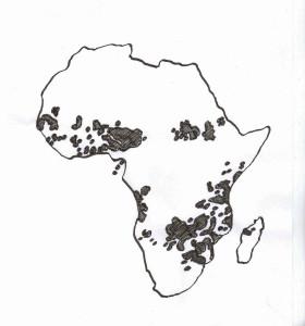 Baobabs Verbreitungsgebiete