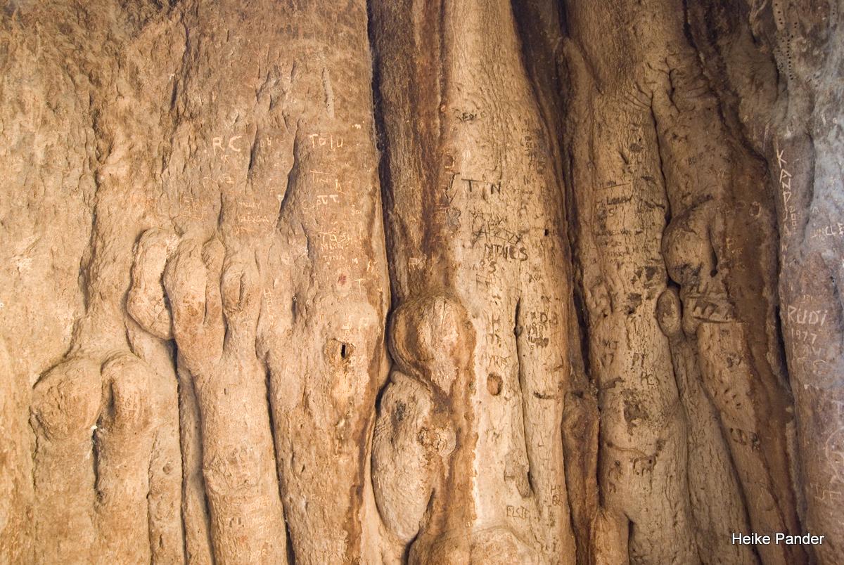 Baobab, Innenraum, Heritage Center, Outapi, Heike Pander