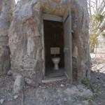 Toilette im Baum, Heike Pander