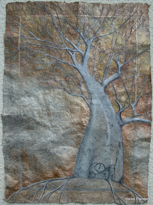 Heike Pander, Baobab am Luangwa, Sambia