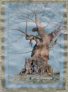 Heike Pander, Baobab Lekhubu Island, Botswana