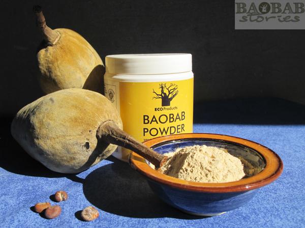 Baobab Pulver, Samen, Früchte