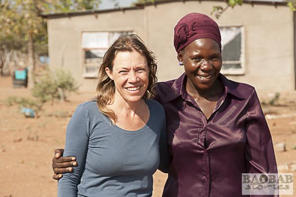 Dr. Sarah Venter, Blessing Mamubeda (v.l.)