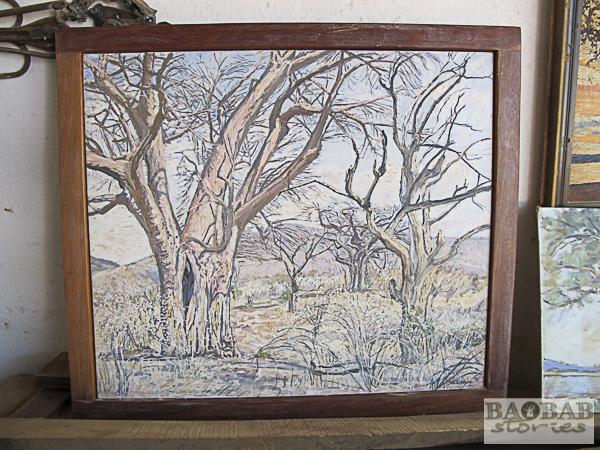 Baobabs, Wayne Stutchbury, Künstler
