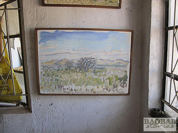 Landschaft, Wayne Stutchbury, Künstler