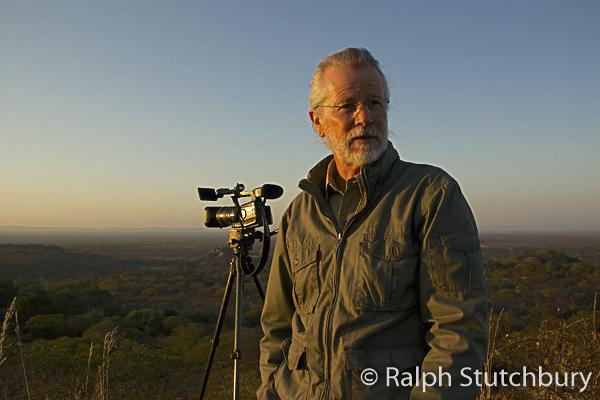 Ralph Stutchbury beim Filmen