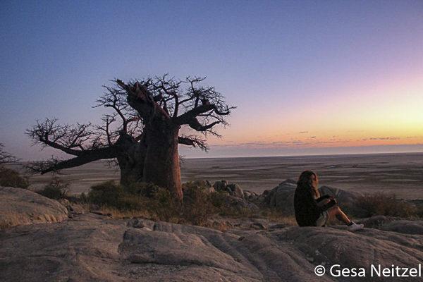 Gesa Neitzel, Mashatu, Botswana