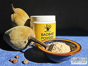 Baobab Früchte, Samen und Fruchtpulver, Heike Pander