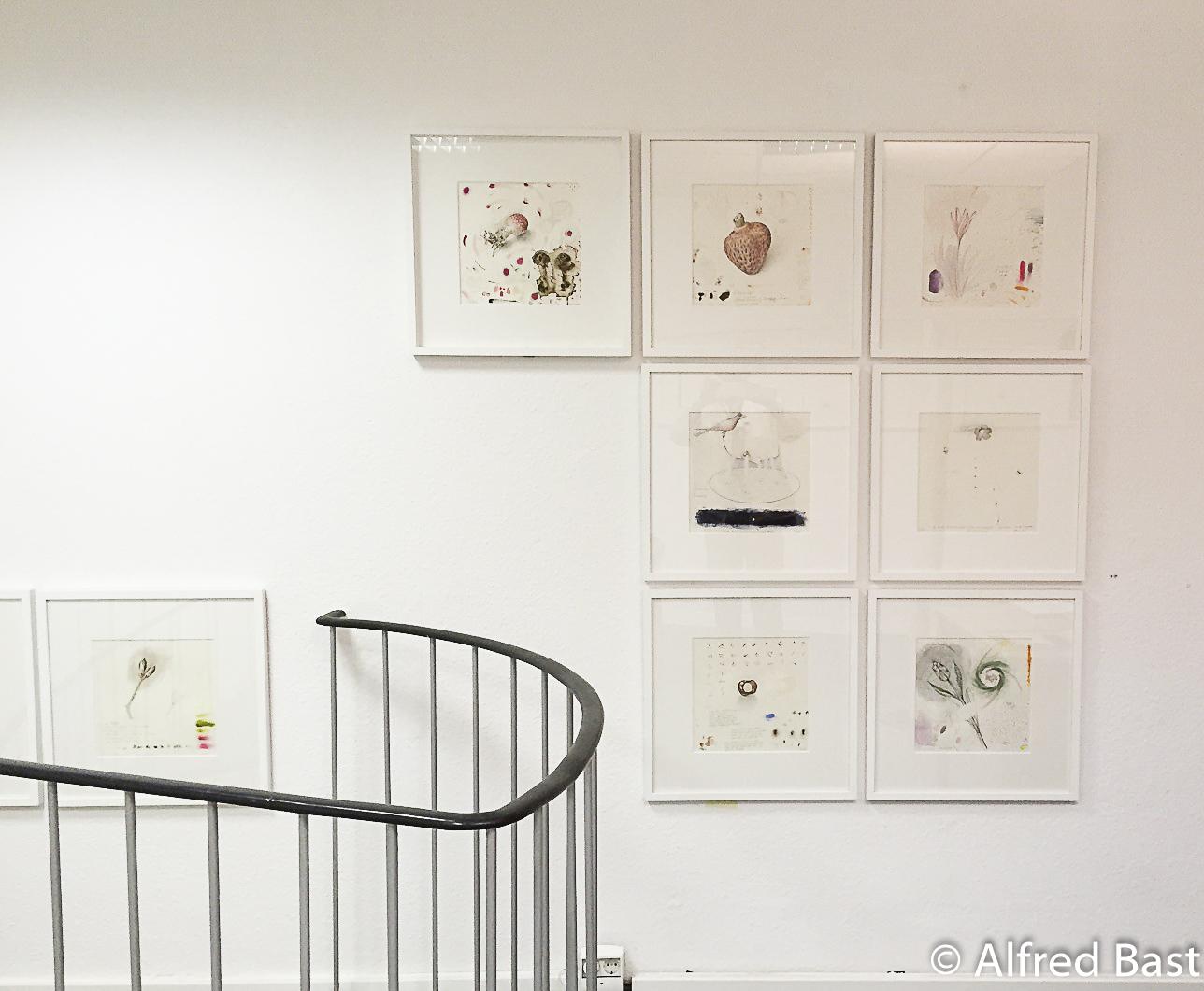 Zeichnungen, Alfred Bast, Morgensterngalerie Berlin, 2015