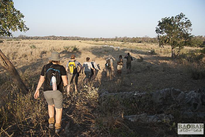 Wanderung in Makuleke, Südafrika