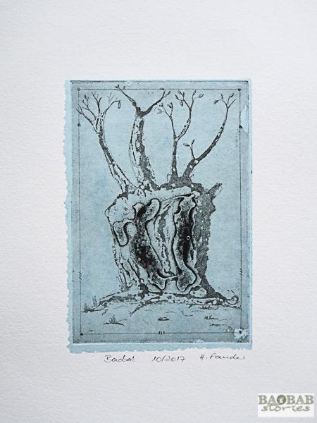 Baobab mit Höhlen