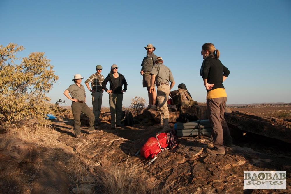 Wanderung, Wildnis, EcoTraining, Mashatu, Tuli Block, Botswana