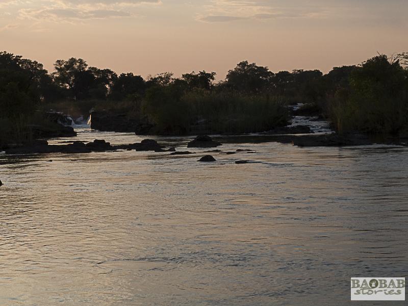 Popa Falls, Kavango, Namibia