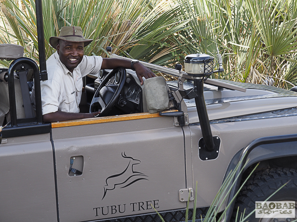Steve, Tubu Tree Camp, Moremi Game Reserve, Botswana